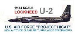 1/144 scale Resin Kit Lockheed U-2 Spyplane Project HICAT - $19.00