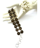 Handmade 925 Sterling Silver and Smoky Quartz B... - $76.00
