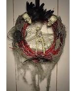 Creepy Halloween Wreath- The Creeps by Moonchylde Creations - $11.45