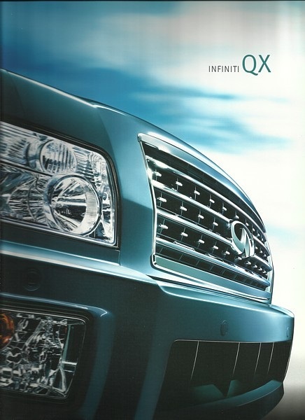 2009 Infiniti QX sales brochure catalog US 09 QX56