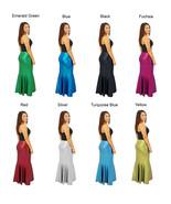 Women's Solid Color Maxi Full Length Skirts Custom Made Mermaid Cut - $55.00