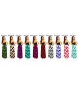 Women's Chevron Zig Zag Color Maxi Full Length Skirts Custom Made - $26.99