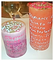 Magick candle create it just for you with your name and for 5 wishes ext... - $69.99