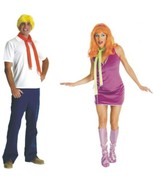 Scooby Doo - Costume - Set of 2 - Fred + Daphnie - Adult - Size Standard - $45.17