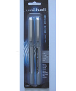Uni-Ball Rollerball Pens Black Ink 0.7mm Fine Point Package of 2 - $4.88