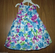Rare Editions Baby Girls Dressy Floral 2 Pc Dress Set, Size 18 Months. NWT - $17.81