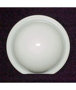 Round White Art Deco Wall Sconce Light Lamp Gla... - $18.95