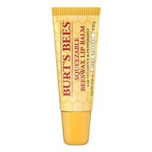 Burt's Bees Lip Balm, Beeswax, Squeezable--0.35 oz (9.92 g) - $14.24