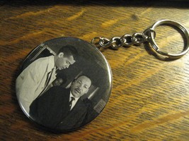 Julian Bond Keychain -  Repurposed Civil Rights Backpack Purse Clip Orna... - $10.88