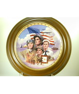 """2647 """"PROUD TO SERVE"""" Plate Bradford Exchange Tribute to Armed Forces  nfp - $25.00"""