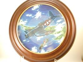 "2652 ""BIG HOG"" Plate Hamilton Collection of WW II War Planes  nfp - $25.00"