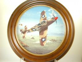"""2649 """"P-39M AIRACOBRA"""" Plate Hamilton Collection of WW II War Planes  nfp - $25.00"""