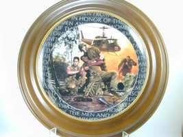 "2654 ""BROTHERS IN ARMS"" Plate Franklin Mint Heirloom Recommendation nfp - $25.00"