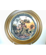 """2654 """"BROTHERS IN ARMS"""" Plate Franklin Mint Heirloom Recommendation nfp - $25.00"""