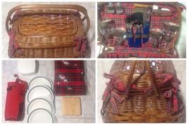 Picnic Time Highlander Willow Picnic Basket for Four - $179.99