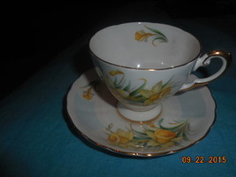 Tuscan Bone china England cup and saucer Birthday Flowers Free Shipping  - $27.99