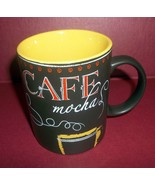Starbucks Cafe Mocha Espresso Chalkboard 2007 Coffee Mug Cup 12oz  Series - $21.84