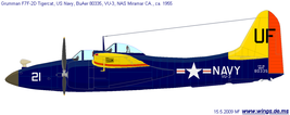 1/144 scale Resin Kit Grumman F7F Tigercat US Navy aerial Target Drone C... - $16.00