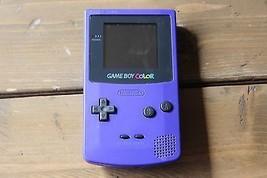 Game Boy Color - Purple - Nintendo Handheld System Rare - $88.11