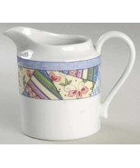 Mikasa Country Quilt China Creamer  Pattern Code MIKCOQUIL - $18.99