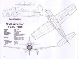 1/144 scale Resin Kit North American T-28A Trojan 643 US Air Force Pilot Trainer image 8