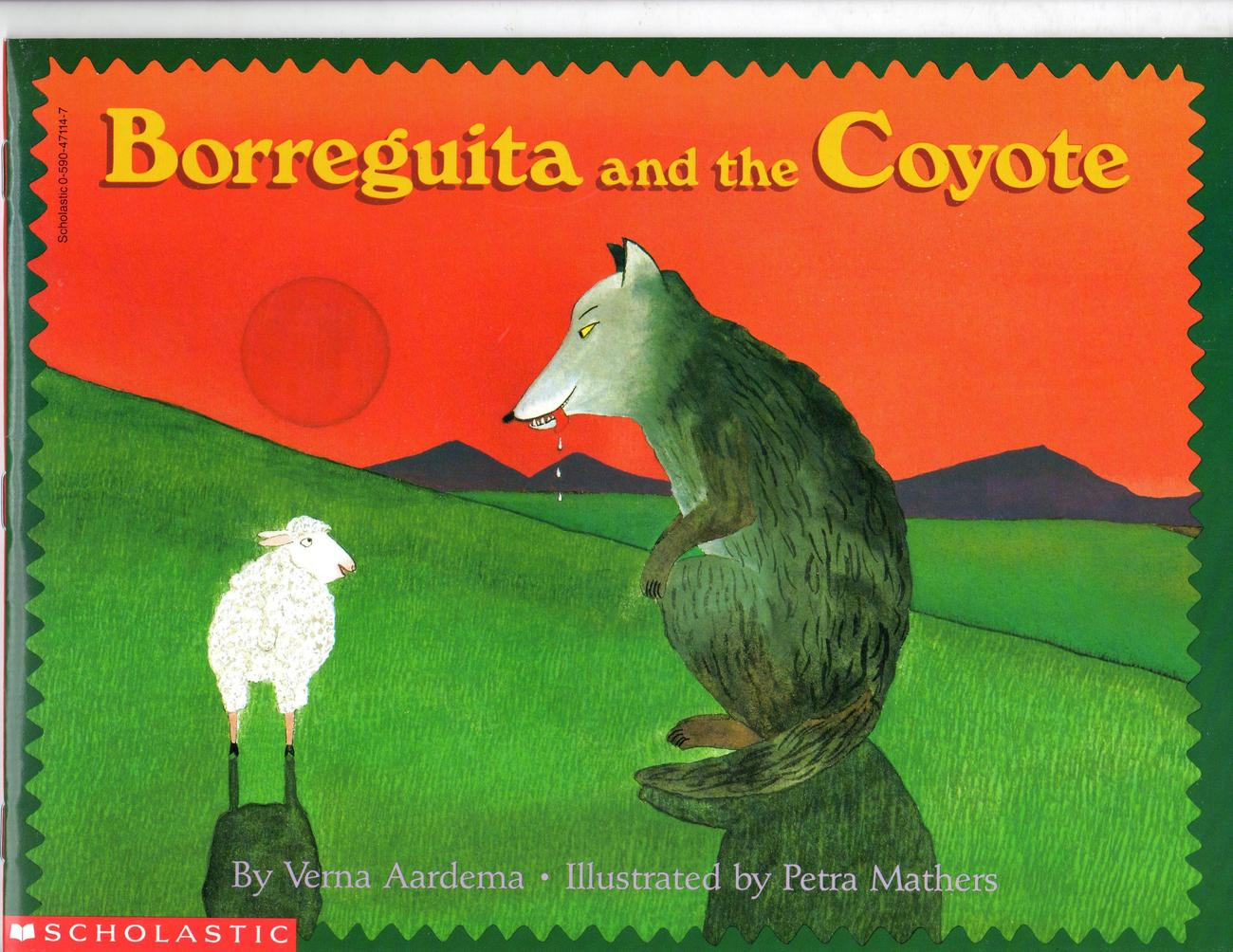 Primary image for Borreguita and the Coyote (Reading Rainbow Books)