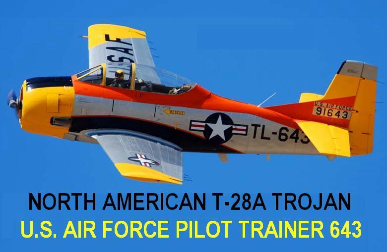 1/144 scale Resin Kit North American T-28A Trojan 643 US Air Force Pilot Trainer image 4