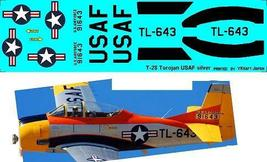 1/144 scale Resin Kit North American T-28A Trojan 643 US Air Force Pilot Trainer image 6