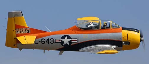 1/144 scale Resin Kit North American T-28A Trojan 643 US Air Force Pilot Trainer image 2