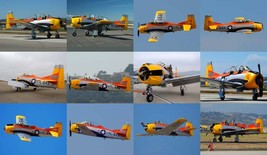 1/144 scale Resin Kit North American T-28A Trojan 643 US Air Force Pilot Trainer image 7
