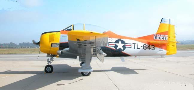 1/144 scale Resin Kit North American T-28A Trojan 643 US Air Force Pilot Trainer image 3