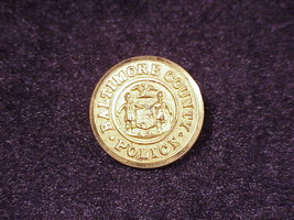 Baltimore County Police Uniform Button, made by... - $6.95