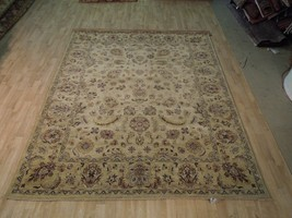 Biege-Green Hand Woven 7x9 Vegetable Dyed Mint Condition Rug PERFECT GIFT - $1,009.55