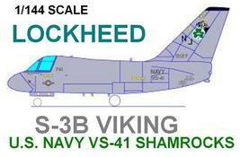 1/144 scale Resin Kit Lockheed S-3B Viking VS-41 Shamrocks - $19.00