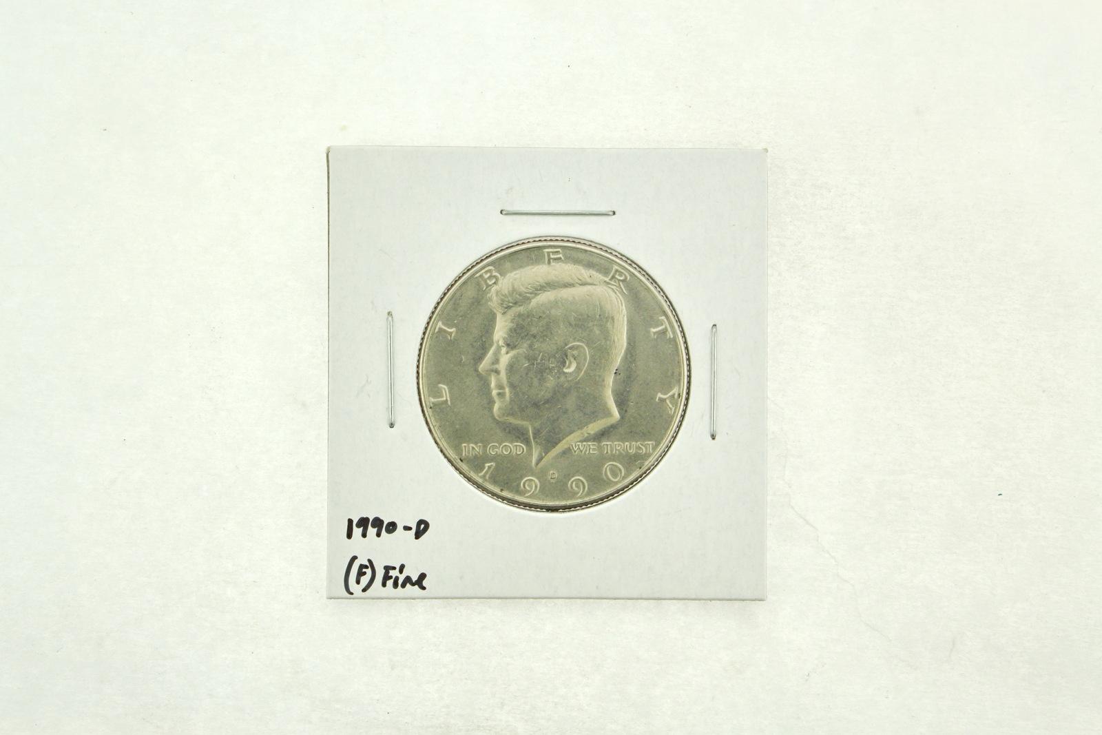 1990-D Kennedy Half Dollar (F) Fine N2-3833-10