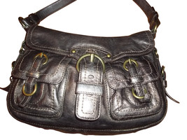 Coach Legacy Garcia Bronze Leather Shoulder Bag 12654! Great Bag! - $103.94