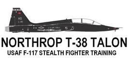 1/144 scale Resin Kit Northrop T-38 Talon US Air Force F-117 Stealth Pil... - $12.00