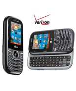 LG Cosmos 3 VN251S Gray (Page Plus) (Verizon PREPAID) QWERTY Slider Cell... - $42.87