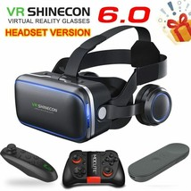 VR 6.0 Standard Edition Headset Version Virtual Reality 3D Glasses Contr... - $36.80 CAD+