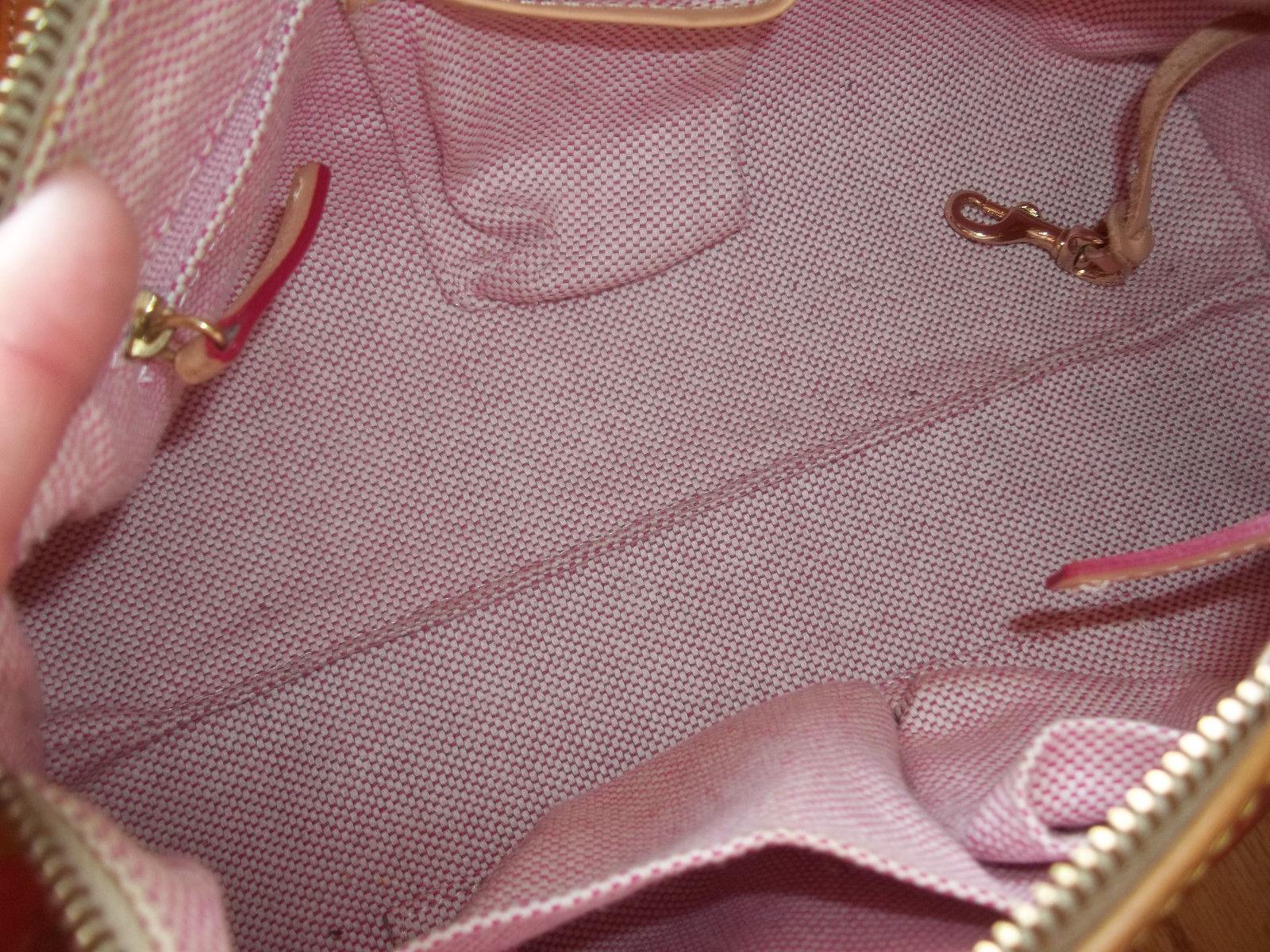 Dooney & Bourke Red Crossword Barrel Bag Handbag image 10