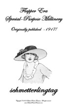 1917 Millinery Book Make Hats Specialty Flapper Era Veils Milliner How to Guide - $11.93