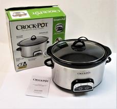 Crock-Pot Smart-Pot 4-Quart Digital Slow Cooker, Silver SCCPVP400-S - $32.46