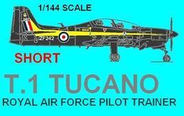 1/144 scale Resin Kit Short Tucano RAF Pilot Trainer - $12.00