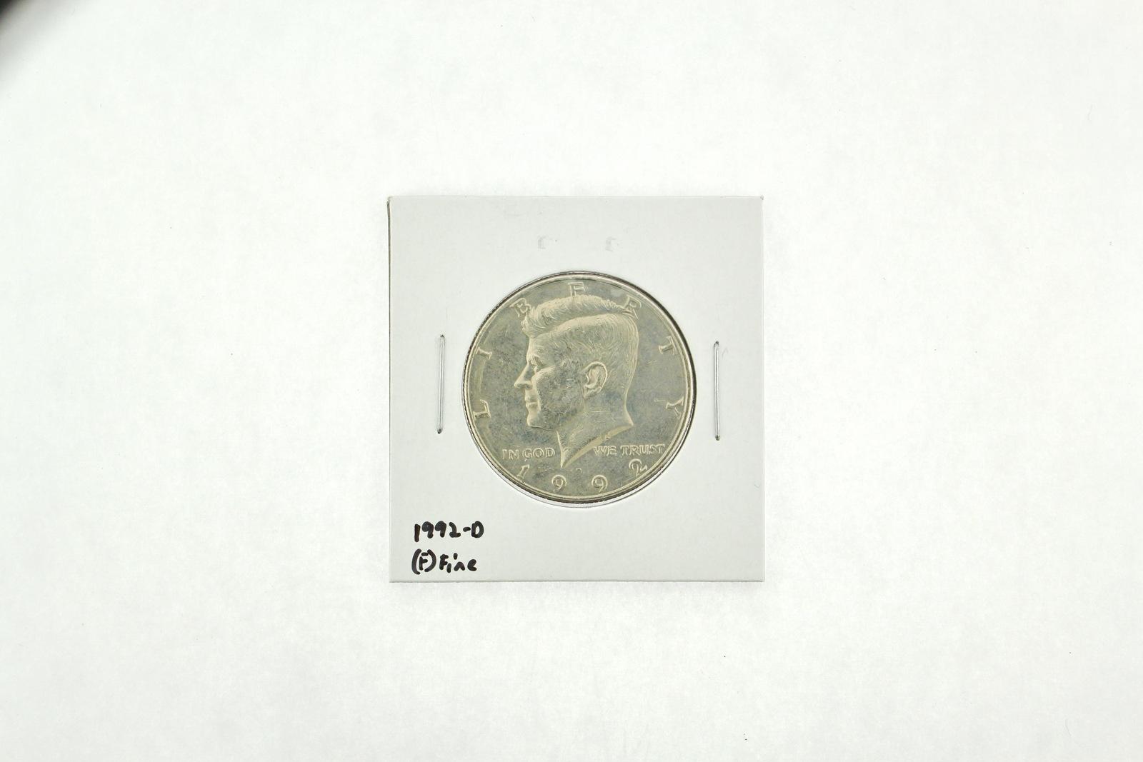 1992-D Kennedy Half Dollar (F) Fine N2-3850-1