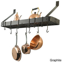 Wall Mount Pot Cookware Organizer Kitchen Rack ... - $78.18