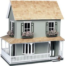 2 Floor Doll house Kit Wood Vintage Victorian C... - $63.33