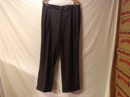 Sean John Mens Black Tailored Dress Pants, Size 36W X 30L