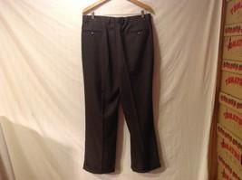 Sean John Mens Black Tailored Dress Pants, Size 36W X 30L image 2