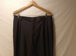 Sean John Mens Black Tailored Dress Pants, Size 36W X 30L image 3