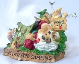 Moose Creek Crossing Got the Itch for Camping Bear Figurine - $9.99